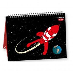 Kuifje Kalender 2019 klein, Tafelkalender, petit calendrier