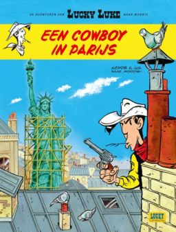 9782884714556, cowboy in parijs, lucky luke nieuwe avonturen 8