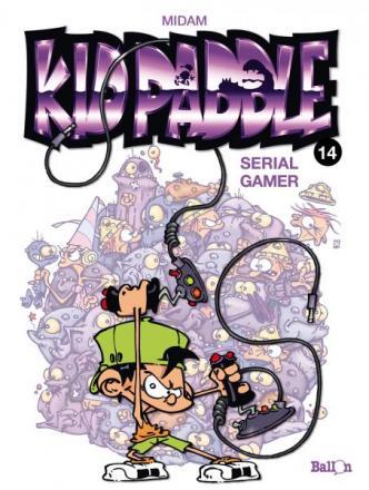 Kid Paddle 14, Serial gamer, 9789462102217