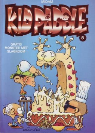 Kid Paddle 5. Gratis monster met slagroom, 9789031422098