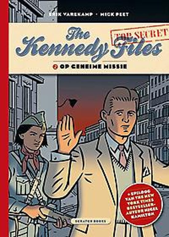 9789492117977, Kennedy Files 2, Geheime Missie, 9789492117960