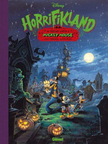 9789462941106, Horrifikland, Mickey Mouse door, Lewis Trondheim. Alexis Nesse, Glenat