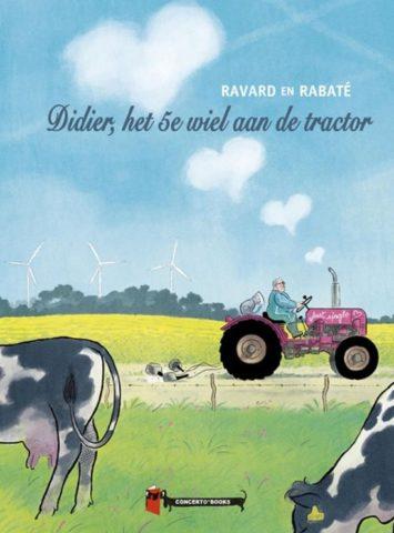 9789493109001, Didier het vijfde wiel aan de wagen, pascal rabaté, concerto books