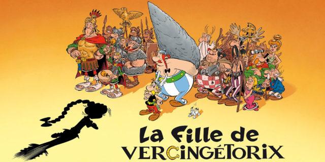 Asterix 38, dochter van de veldheer, dochter van vercingtorix