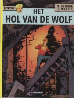 9789030330318, het hol van de wolf, lefranc 4
