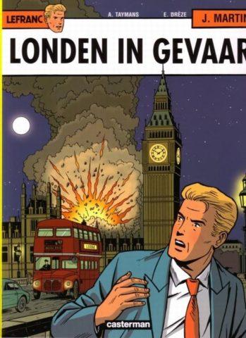 Lefranc 19, 9789030361800, Londen in gevaar