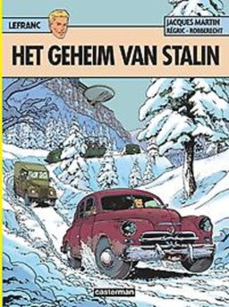 Lefranc 24, Het geheim van stalin, 9789030368403