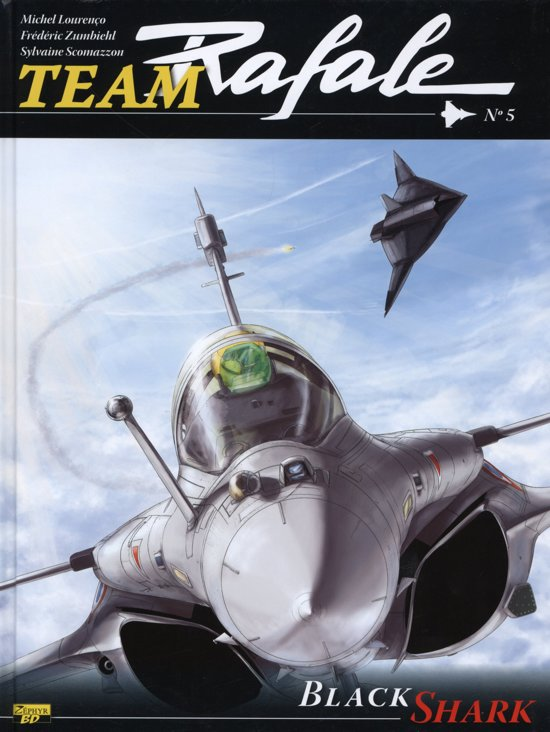 Team Rafale 5 HC, 9789031438082, Team Rafale 5, 9789031438075, Black Shark