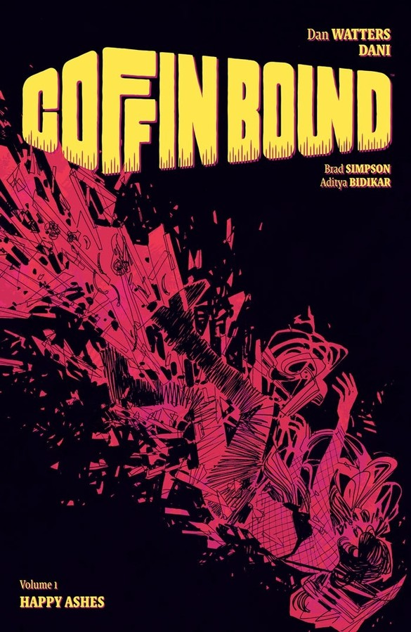 9781534313743, coffin bound vol. 1, happy ashes