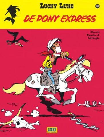 9782884714129, Lucky Luke 60, Pony Express