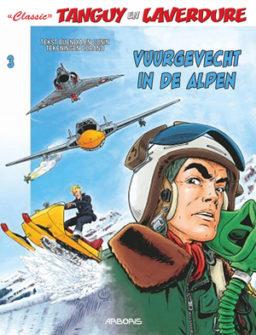 9789034308054, 9789034308047, Tanguy en Laverdure classic 3, vuurgevecht in de alpen