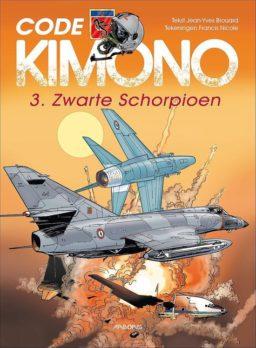 9789034308368, Code Kimono 3, Zwarte schorpioen, Code Kimono 3 HC
