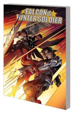 9781302923099, Falcon & Winter Soldier, cut off one head, tale of two cops