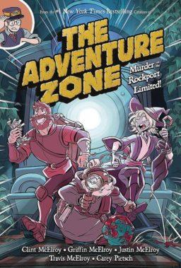 9781250153715, Adventure zone 2, murder on the rockport