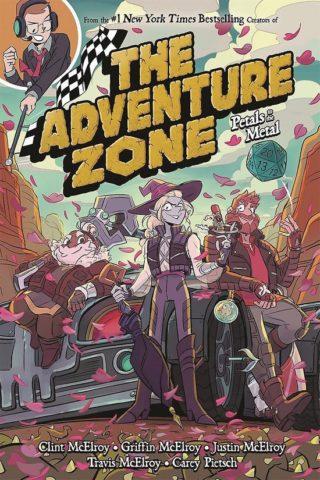 9781250232632, adventure zone 3, petals to the metal