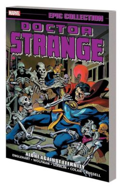 9781302921996, doctor strange epic collection 4, Alone against eternity