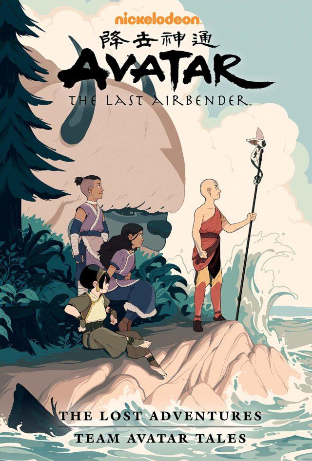 9781506722740, Avatar the last airbender, lost adventures, team avatar tales