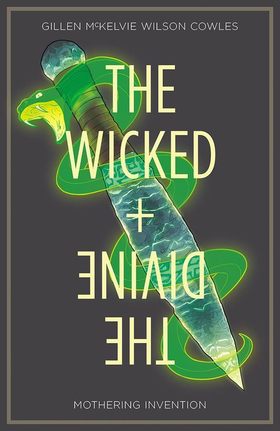 9781534308404, the wicked + the divine 7, mothering intervention