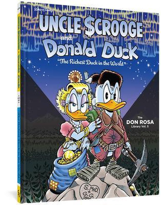 9781606999271, Uncle Scrooge and Donald Duck 5, the Richest Duck in the World