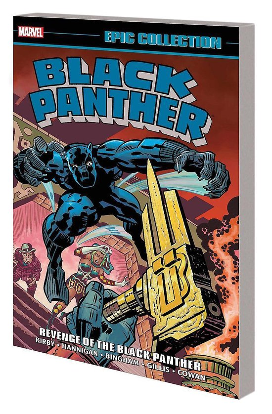 9781302928209, Black Panther Epic Collection, revenge of the black panther