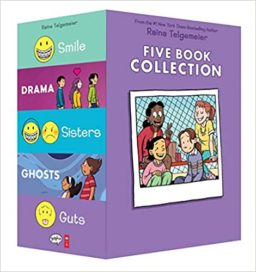 9781338725124, Five Book collection, Raina Telgemeier