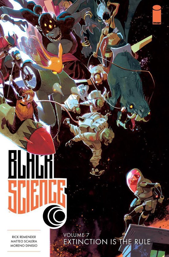 9781534304932, Black Science 7, extinction is the rule
