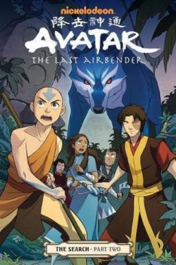 9781616551902, avatar the last airbender - the search part 2