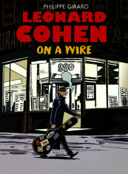 9789493109308, On a wire, Leonard Cohen