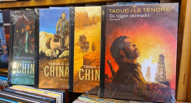 Chinaman Integraal 1-2-3 en De Tijger Ontwaakt Luxe Pakket, 9789031439515, chinaman integraal