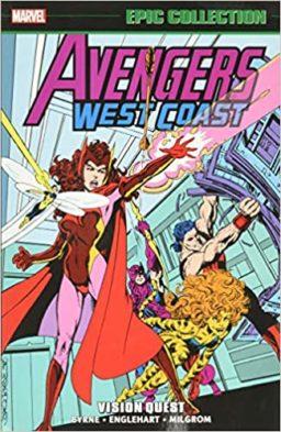 9781302927424, Avengers West Coast Epic