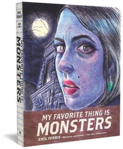 9781606999592, My favorite thing is monsters