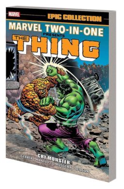 9781302928339, Marvel-two-in-one presents the thing, cry monster