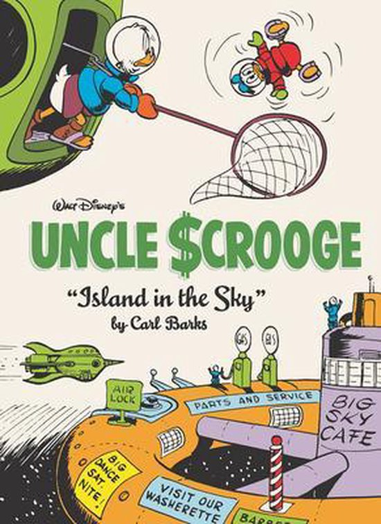 9781683964018, Carl Barks library 24, island in the sky
