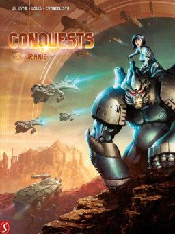 9789463066679, conquests 4 hc, uranie