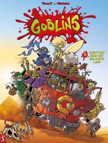 9789463067256, goblins 4, zoektoch naar het beloofde land
