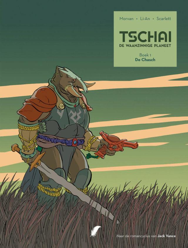 Tschai - De Waanzinnige Planeet boek 1 - De Chasch