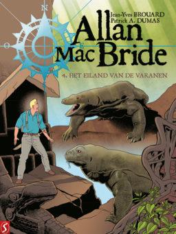 9789463067607, Allan Mac Bride 4 sc, Het Eiland van de Varanen